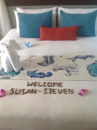 Buri Rasa Koh Phangan : Greeting on arrival