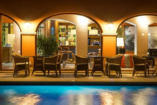 Les Rotes Hotel : Terraza chill out
