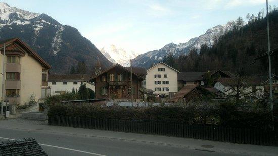 Gasthof Hirschen : Vista dos Alpes
