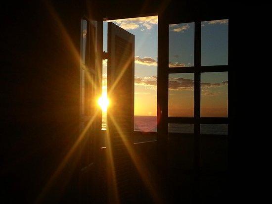 Hotel Garni Cruzeiro do Sul: O sol invadindo