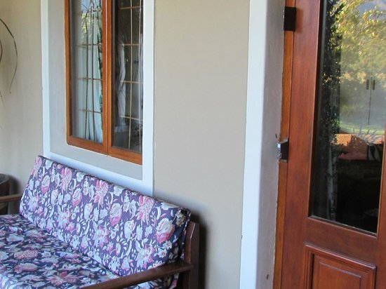 Cape Vue Guest House: Our veranda