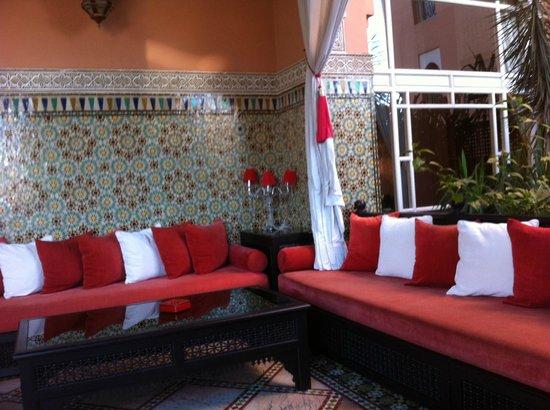 Sofitel Marrakech Lounge and Spa : Entrée