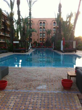 Sofitel Marrakech Lounge and Spa: Piscine chauffée