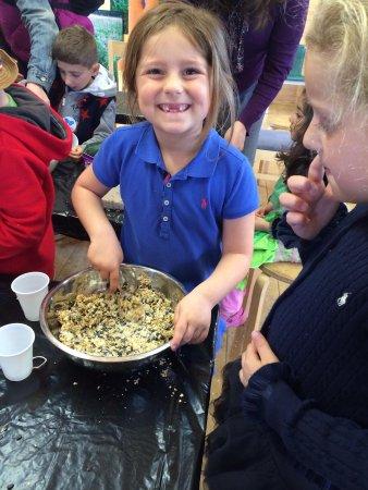 Butterfly World Project: Making a bird feeder