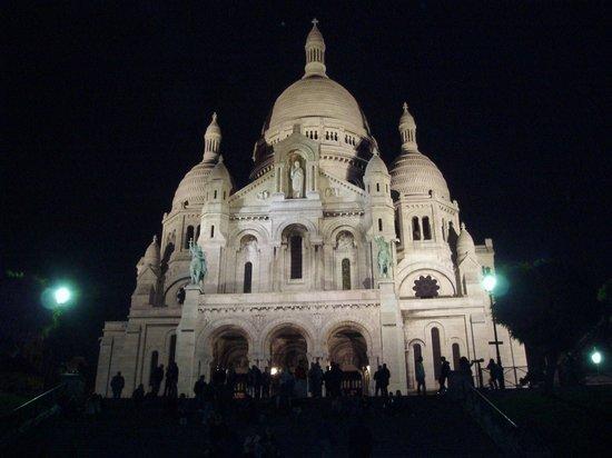 Hotel de l'Arcade: Sacre-Coeur bei Nacht