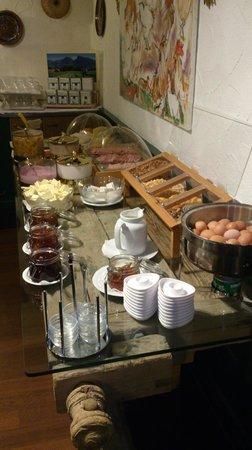 Alfa Soleil: breakfast
