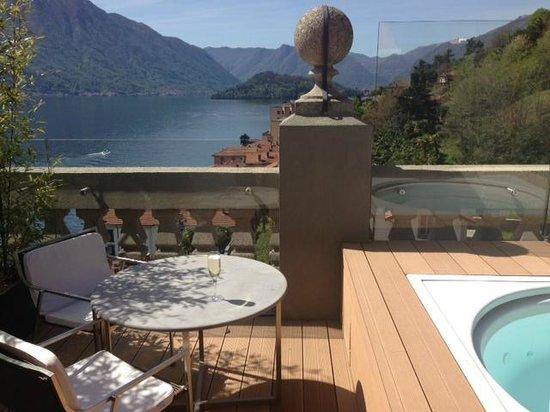 Grand Hotel Tremezzo: Junior roof top suite...