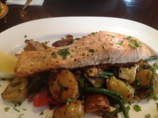 The Lotts Cafe Bar: very tasty salmon