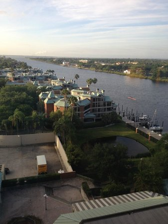 Westin Tampa Harbour Island: View from Westin Room 1010