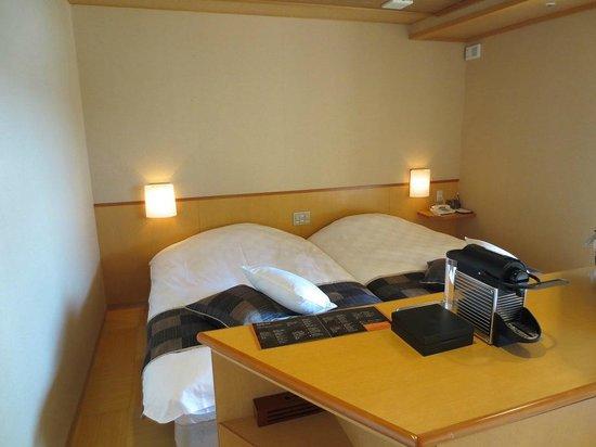 Fujisan Onsen Hotel Kaneyamaen: ベット