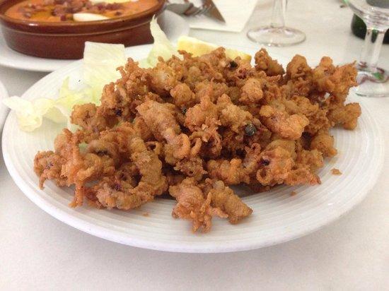Bodega Taberna Rafae : Lo mejor! Las puntillitas fritas!!