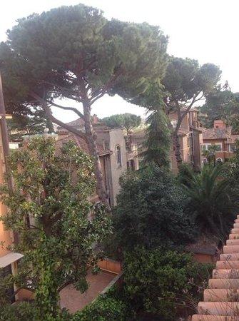 Hotel Villa San Pio : view single bedroom