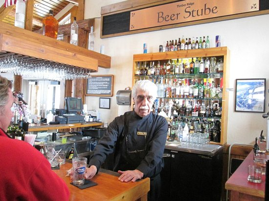 Keystone Ski Area: This should really be called Marty's Bar.  He has been here every winter for the past 20 years