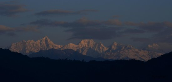 Hotel Sonam Delek : Kanchenjunga from the Balcony