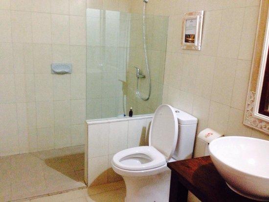 Bumi Ayu Bungalows: An okay bathroom