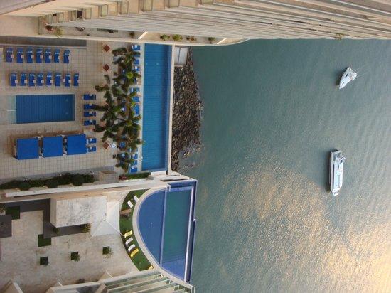Trump International Hotel & Tower Panama: balcony view