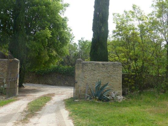 Domaine Des Escaunes : entrée
