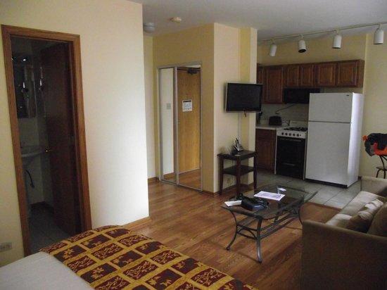 Dewitt Hotel & Suites : habitación