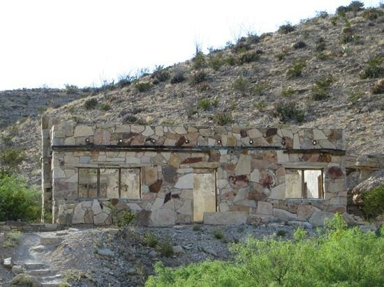 Big Bend National Park: Ruins near the hot springs