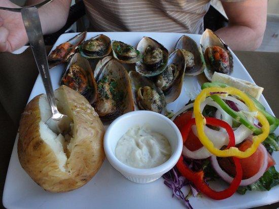 Asador Grill Steak House : Устрицы