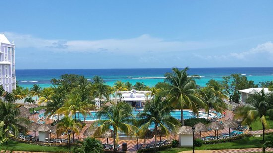ClubHotel Riu Ocho Rios: View from our room - 1331