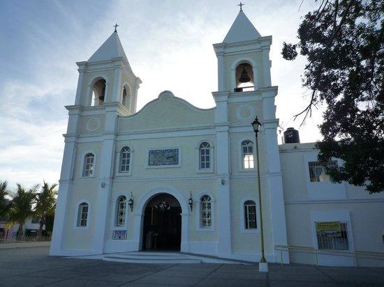Parroquia San José: Mission San José del Cabo entrée principale