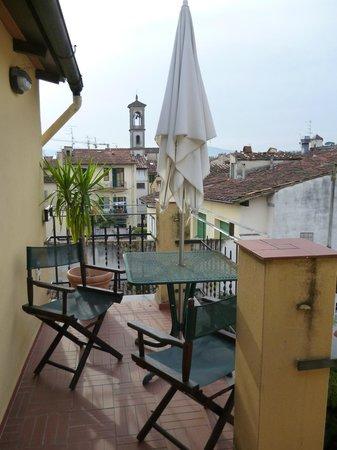 Dimore La Vecchia Firenze : Вид с балкона