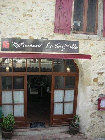 Le restaurant Le Very'table.