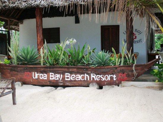 Uroa Bay Beach Resort : Bar de la plage