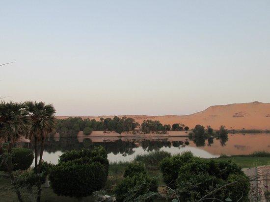Movenpick Resort Aswan : vista dalla camera