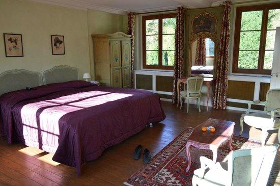 Hostellerie du Chateau Les Muids : Номер 1