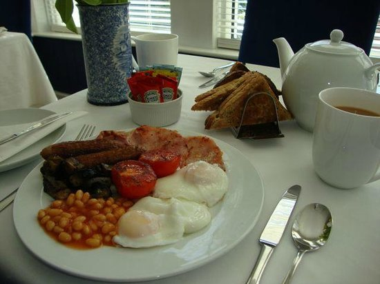 Camelot Guest House: Our Full English Breakfast, or choose any combination.