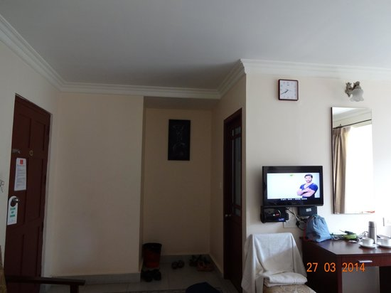 Las Palmas Munnar: Suite room - neatly maintained