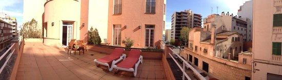 Hotel Armadams: Gorgeous deck!