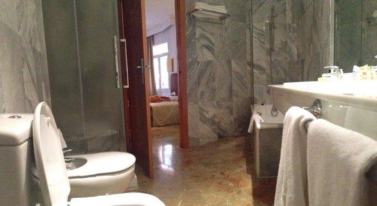 Hotel Armadams : Spacious bathroom