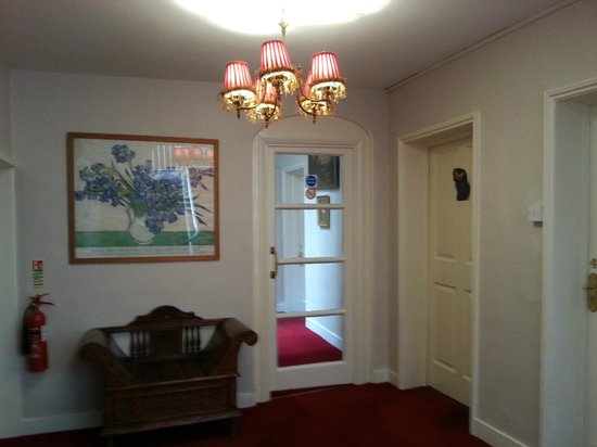The Bell At Sax': hallway