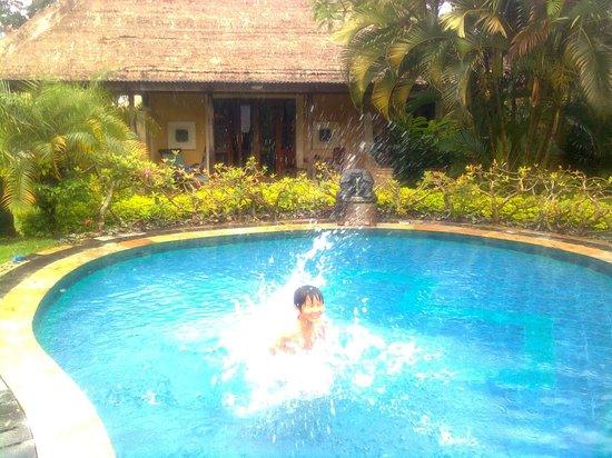 Rumah Bali : вид на наш домик