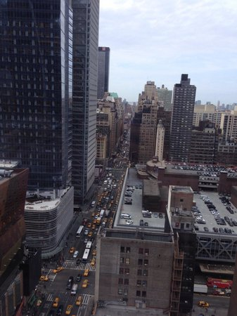 InterContinental New York Times Square: vista desde la ventana