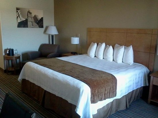 BEST WESTERN TLC Hotel: My fourth-floor room