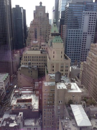 InterContinental New York Times Square: vista desde la hab. 3303