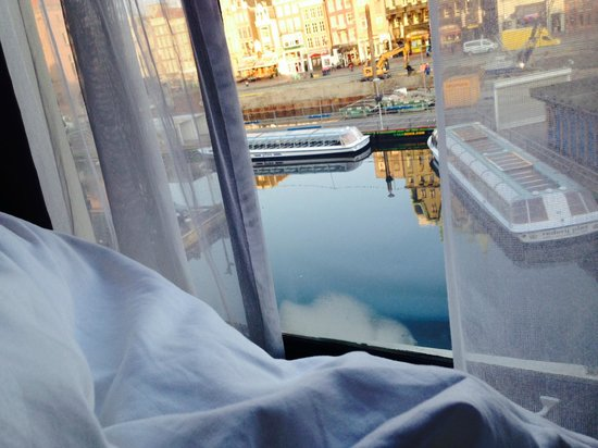 Hotel CC: my room facing the damrak (for the look and feel of warmoesstraat, you can easily find in on goo