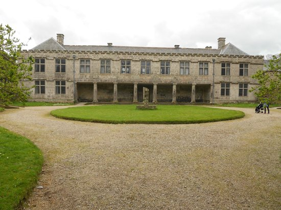 Godolphin: The north elevation... unusual architecture for the time