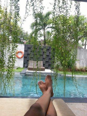 Kunti Villas: relaxation.
