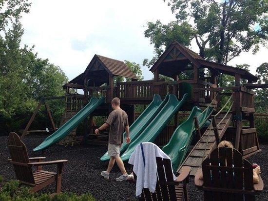 RiverStone Resort & Spa: Playground area