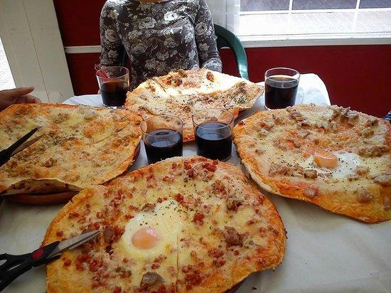 La Tabla de Tarifa: Pizzas