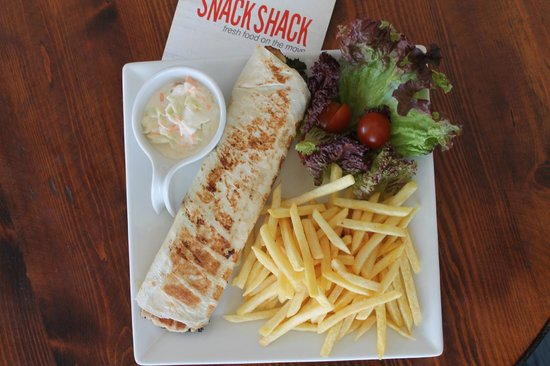 Snack Shack: Chicken Grilled wrap