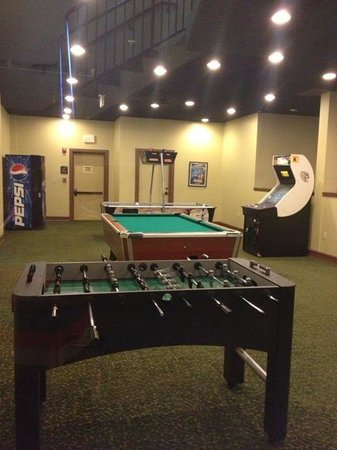 RiverStone Resort & Spa: Game room