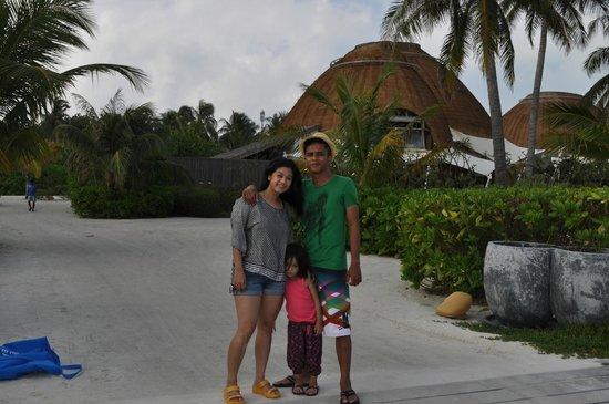 Holiday Inn Resort Kandooma Maldives: The Reception Roof