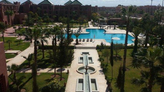 Palm Plaza Marrakech Hotel & Spa: Chambre sup vue sur piscine