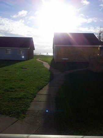 Corton Villas: The view from our veranda!